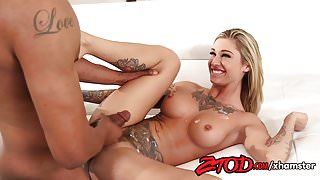 Kleio Valentien Gets Fucked Hard By Her Black Stepbrother