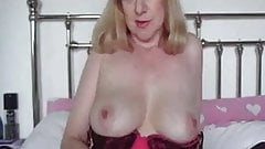 Busty Milf In Black Stockings