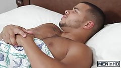 He is fucking Wills hot ass while their roommate hears it