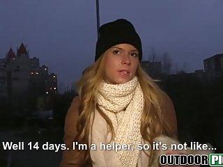 Download video bokep Money talks to blonde babe Chrissy Fox as she fucks outdoors Mp4 terbaru