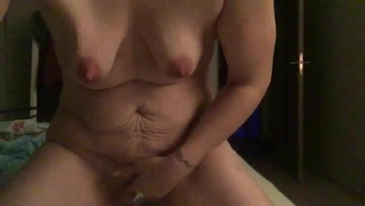 Skinny girl amateur multiple orgasms