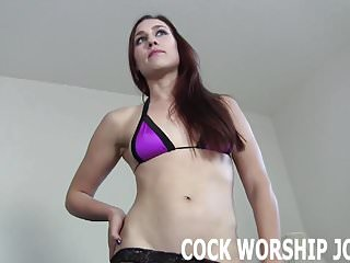 Can you handle sucking a really big cock JOI