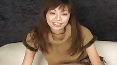 Asian Tan Pantyhose Tease
