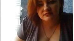 Chatroulette: milf redhead flashing tits