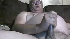 real amateur grandpa jacking off and cum