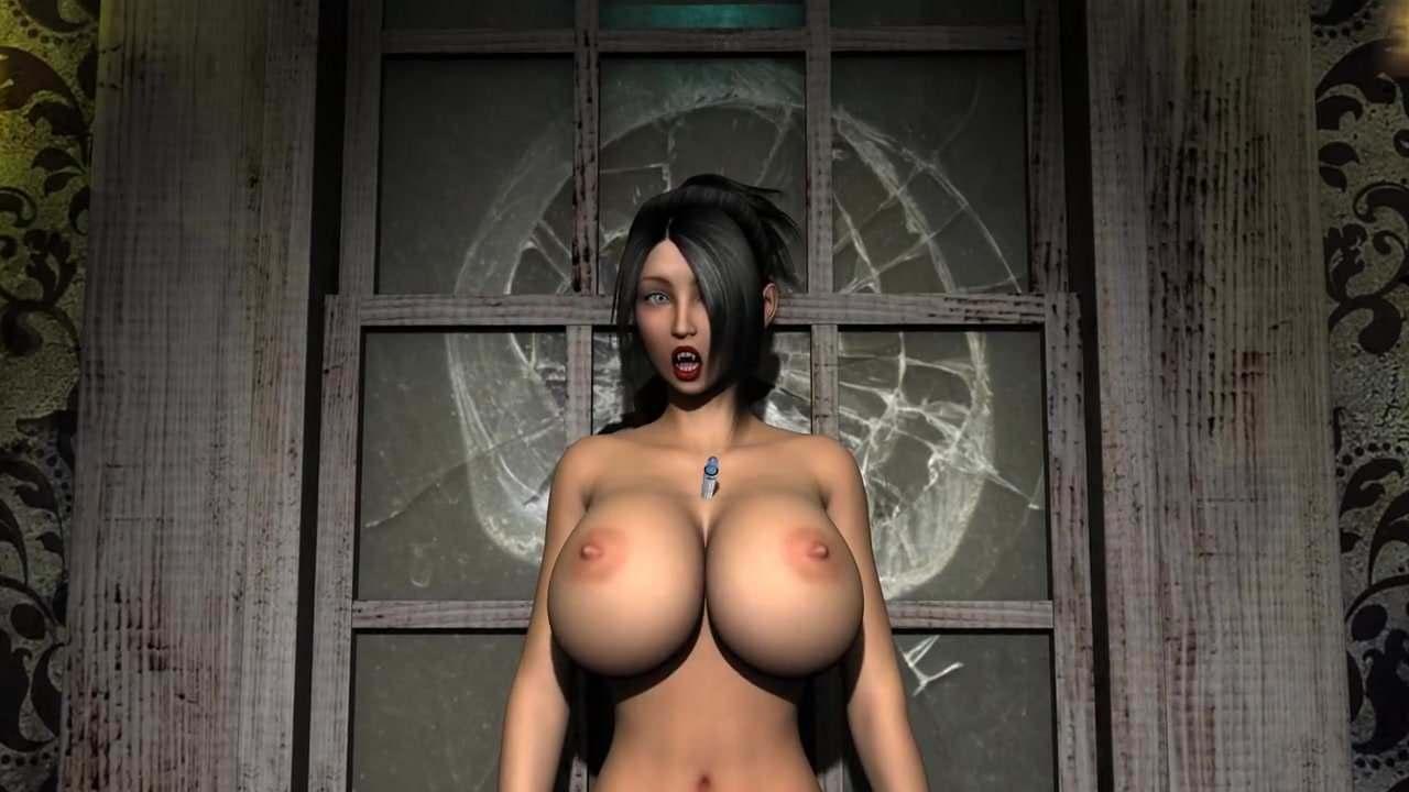 image Vampire breat inflation cgi 3d animation beta