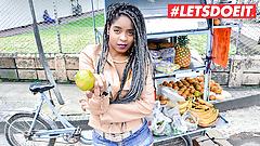 LETSDOEIT - Big Ass Ebony Latina Picked Up & Fucked
