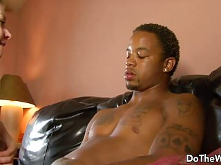 Preview 3 of White girl lets a black guy fuck her while her husband watch