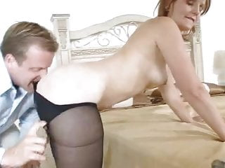 Mature Sadie gets Pounding by young stud