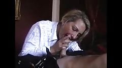 Hot milf is doing a young guy