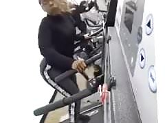 Black Bitch Shaking Ass Working Out