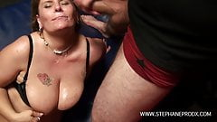 A Belgian BBW gets fucked in the chain like a whore's Thumb
