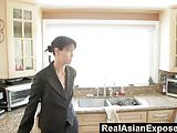 RealAsianExposed - Dana Vespoli gets double dipped and swall