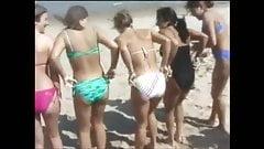 Beach Teens Flashing Titties