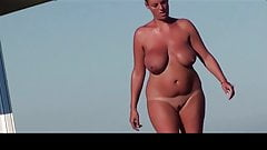 Spanish big tits nude beach