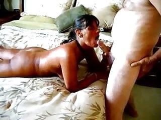 Husband Films Wife with Big Dick Silver Daddy