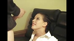 Nervous, excited teen loves first facial