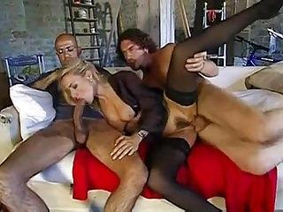 Italian Mature Federica -Fucks 2 Guys