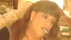 Rachelle Smoking