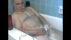 grandpa bath time