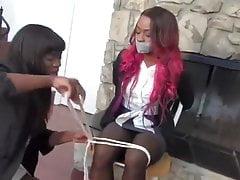 African slut molested
