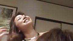 Uncensored Japanese threesome