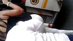 Rz Ass con Leggins blanco