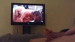 Nude sexy teen enjoying her boob getting sucked