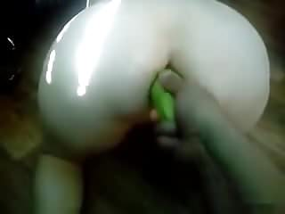 Eggplant and russian mature