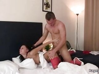 She cheated and takes it rough from behind