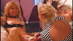 Lesbian orgy with famous pornstars