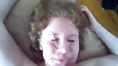 Bbw friends share facials