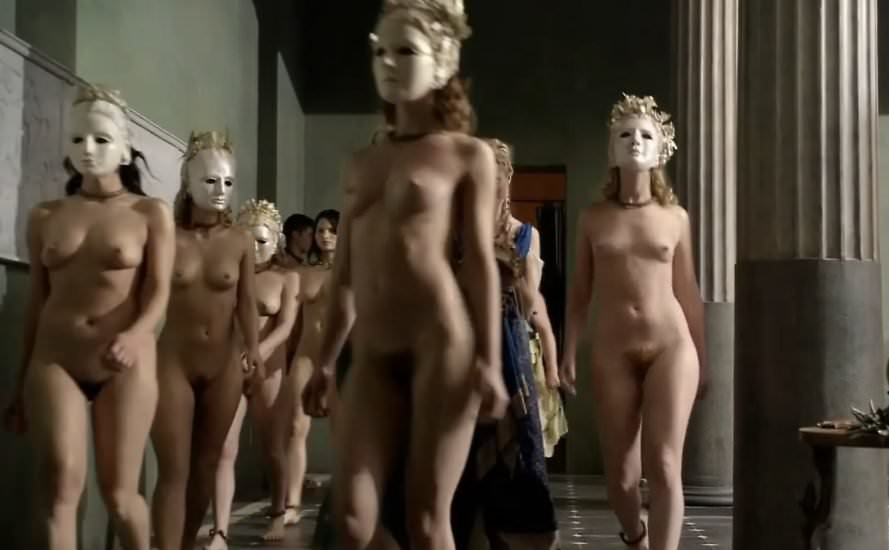 Spartacus of nude men naked