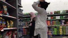 Hijab Teens with Big Asses