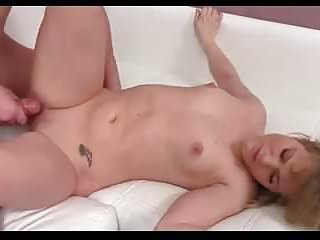 Amateur - Pointy Little Tits Teen CIM & Creampie MMF