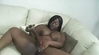 Chocolate Ebony BBW Solo
