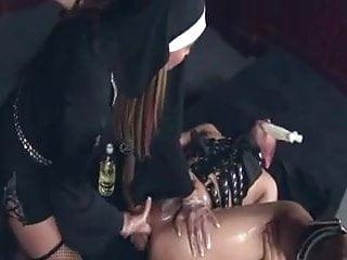 :- THE FEMDOM NASTY NUN TREATMENT -: =ukmike video=