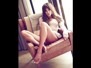 Lea Michele - Jerk off challenge