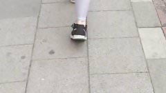 Prelepa klinka u helankicama - leggings