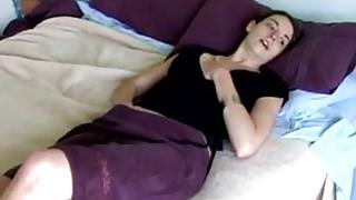 masturbation on bed