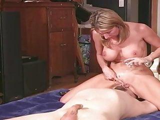 Wife Milks And Feeds Cuckold Husband