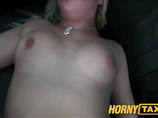 HornyTaxi Pussy dripping over big thick cock