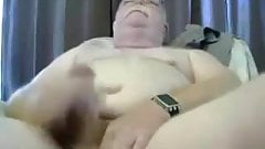Dad Masturbates on Webcam