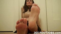 You should be honored to worship my feet