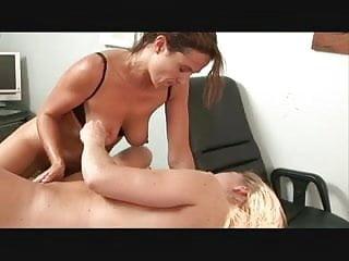 Hot Lesbian Sex Scene In The Office