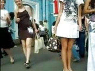 Upskirt Teen Sheer White Lace Panties
