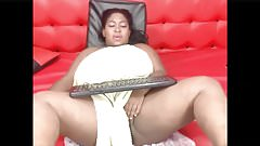 Ebony bbw webcam lounging naked