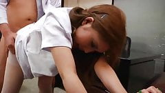 Japanese Horny Nurse With Puffy Nipples