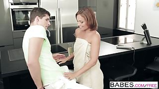 Babes - Step Mom Lessons - Kristof Cale and Nataly Gold and