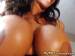 My MILF Exposed Hot busty wife sucking and riding cock POV